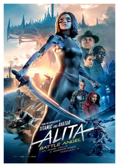 Últimas películas que has visto - (Las votaciones de la liga en el primer post) - Página 2 Alita_p_ster