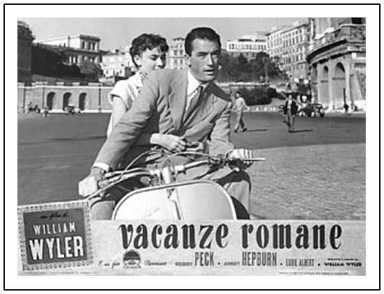 poster pelicula vacaciones en roma