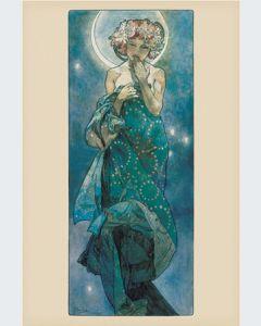 Alfons Mucha la Luna