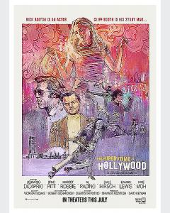 Érase una vez en Hollywood Collage