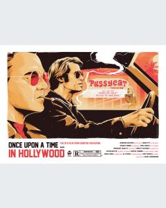 Érase una vez en Hollywood Ilustración