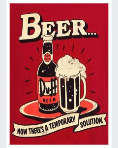 Cerveceza Duff