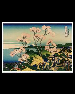 Hokusai Colina de Goten Yama