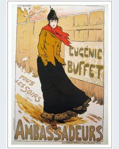 Toulouse Lautrec Eugénie Buffet