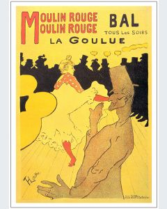 Toulouse Lautrec Moulin Rouge