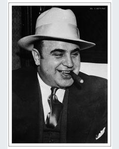 Al Capone Retrato