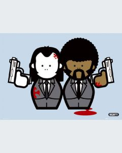 Pulp Fiction Ilustración