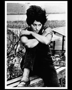 Sophia Loren en Rodaje