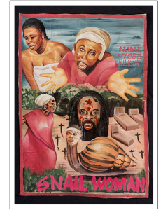 Snail Woman cartel Ghanés