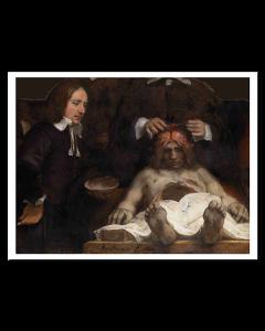 Rembrandt Lección de Anatomía