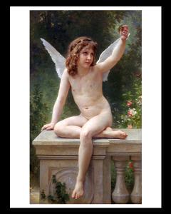 Bouguereau El Amor en la Mirada