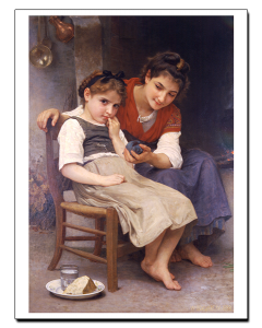 Bouguereau Little Sulky