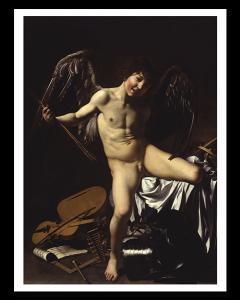 Caravaggio El Amor Victorioso