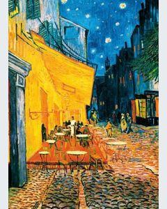 Terraza de Café por la Noche