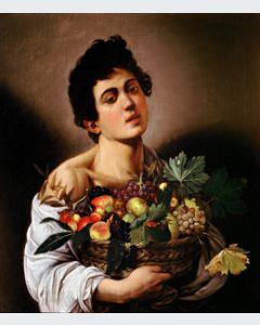 Caravaggio Niño con Cesto de Frutas