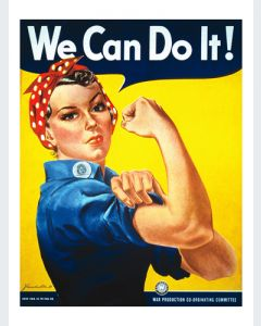 We Can Do It! Gran Formato Enmarcado