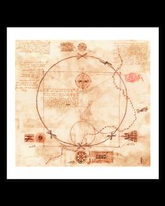 Leonardo da Vinci Estudio Mecánico y Estratégico
