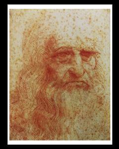 Leonardo da Vinci Autorretrato
