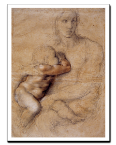 Miguel Ángel Mujer con Niño