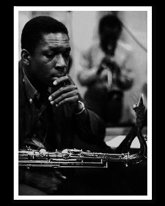 John Coltrane y Miles Davis