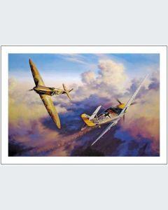 Dos Aviones de Combate