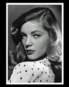 Lauren Bacall Retrato