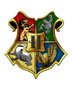 Pegatina Harry Potter Escudo