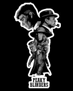Pegatina Peaky Blinders