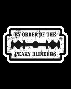 Pegatina Peaky Blinders Cuchilla