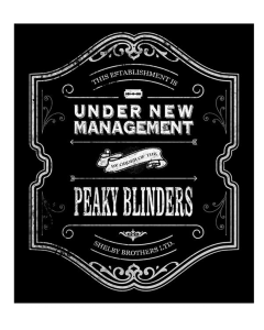 Pegatina Peaky Blinders Logo