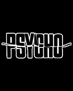 Pegatina Psicosis