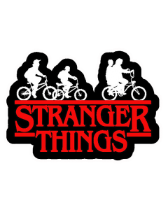 Pegatina Stranger Things