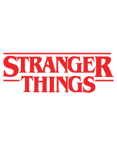 Pegatina Stranger Things Título