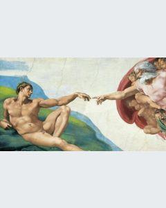 La Creación de Adán Gran Formato