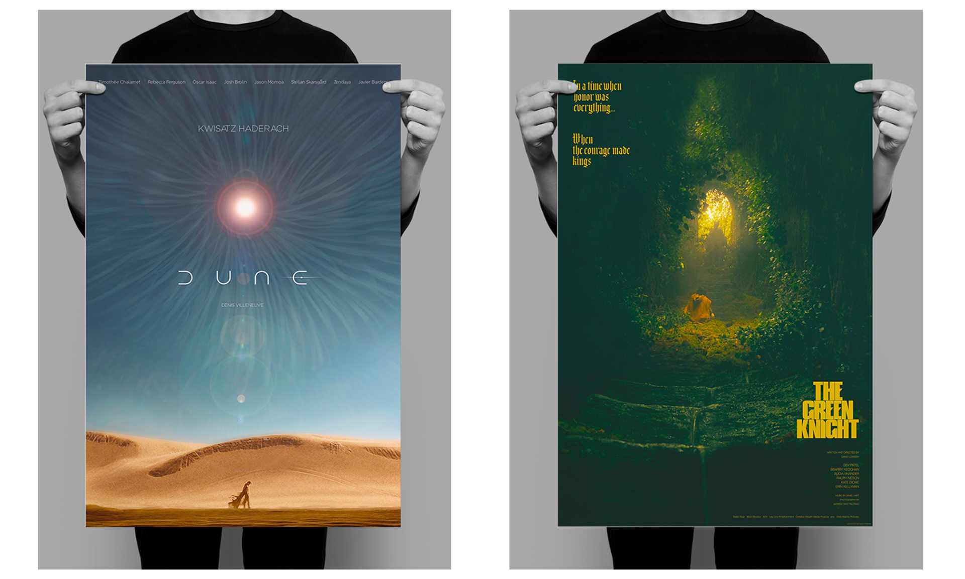 pósters alternativos de películas